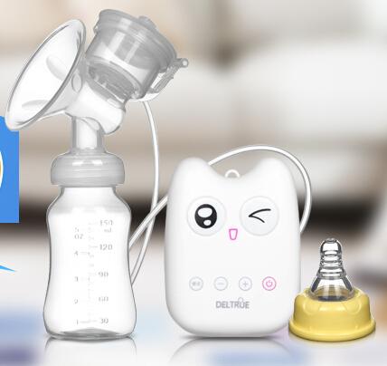 Intelligent USB electric breast pumps baby BPA Free Postpartum Breast feeding Breast milk suckers Single breast