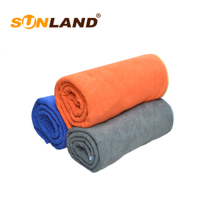 Sunland widely used hot microfiber yoga mat towel wholesale