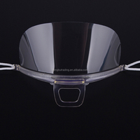High quality anti spray clear transparent face mask in cooking room splash proof food industry surgical face mask