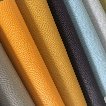 Wholesale colorful 21cm*29cm A4 size synthetic leather fabric for craft