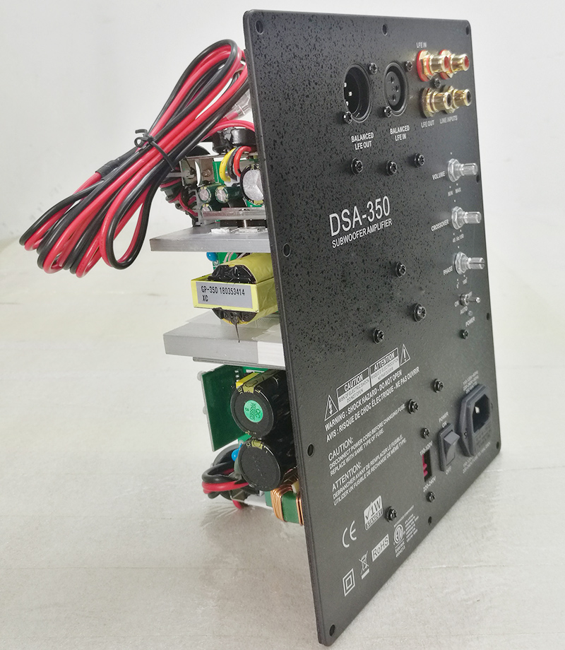 For Subwoofer 500W HiFi Super Bass Digital Subwoofer Amplifier Class D