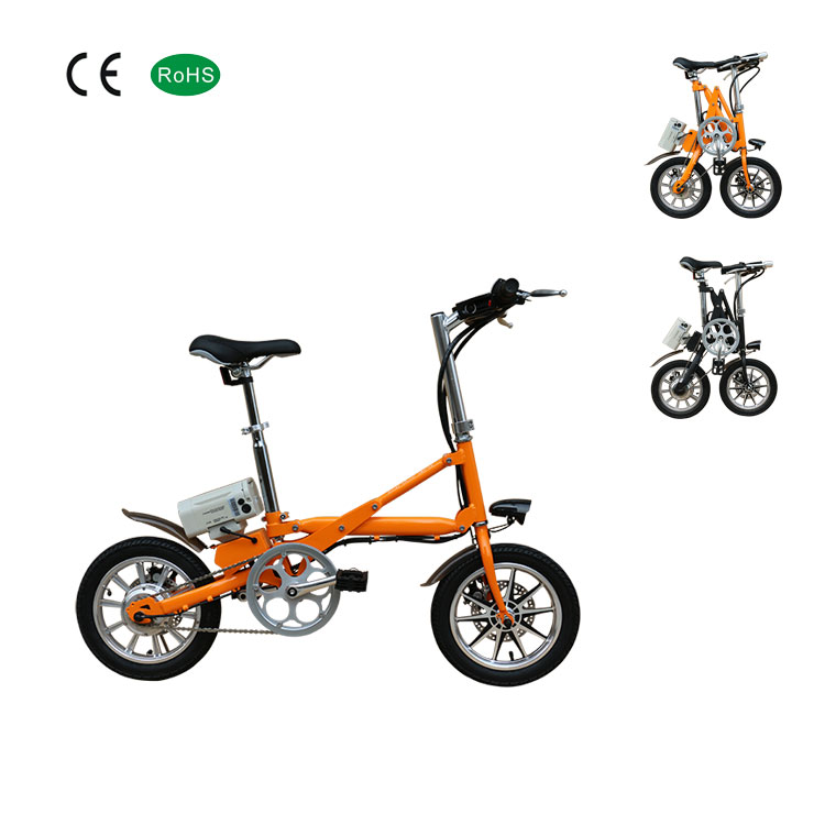Chinese 16 inch adult mini lightweight folding electric <strong>bike</strong>