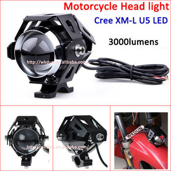 Moto Transformers Shape 3000-lumen Cree Xm-l U5 Black Shell Led ...
