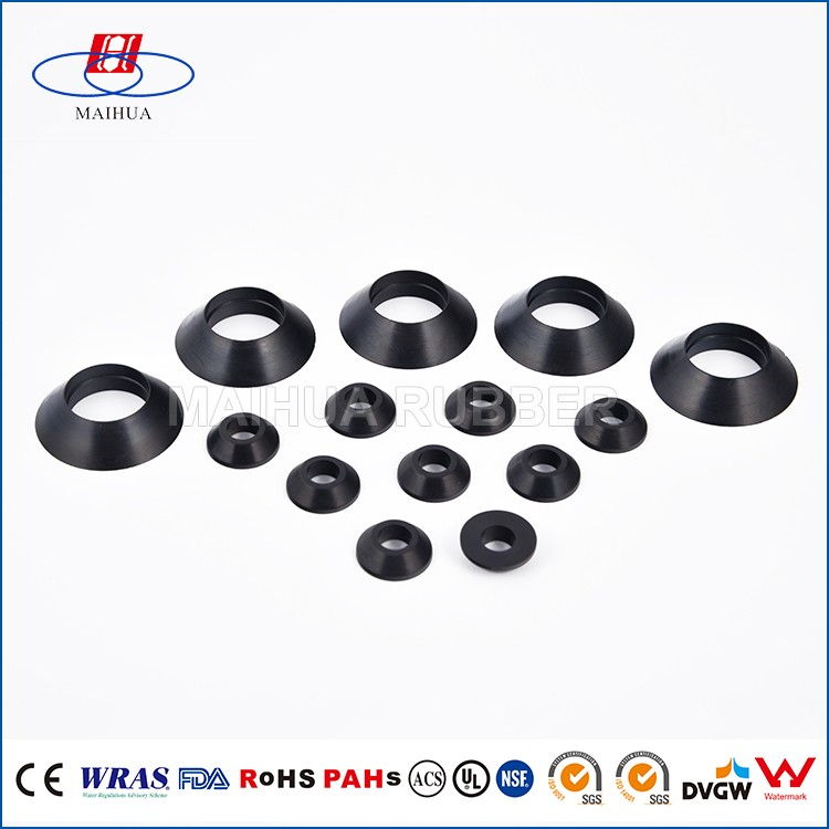 Nbr Custom-made Rubber Cone Washer - Buy Rubber Cone Washer,Rubber ...