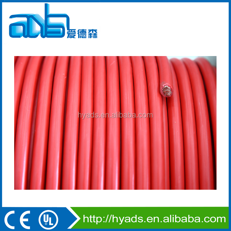 PVC insulated auto battery cable