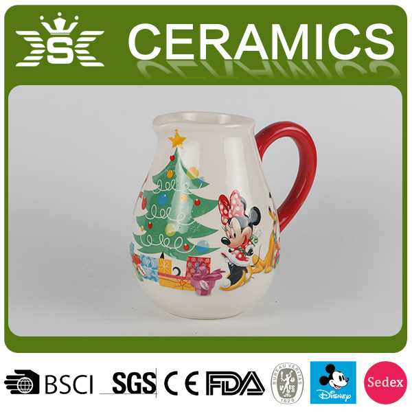 New Hot White Ceramic Sugar pot Milk cup Custom LOGO