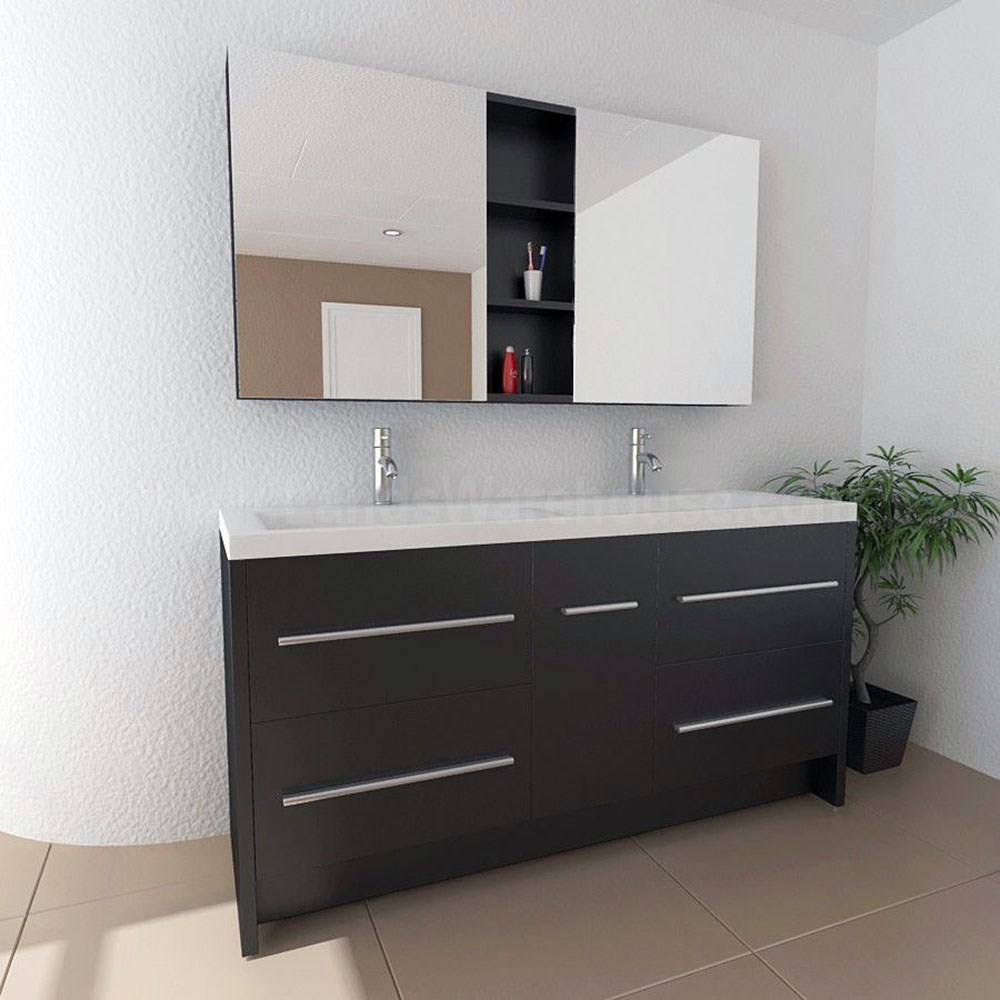 Discount bathroom vanities charming discount bathroom for Cheap modern bathroom ideas