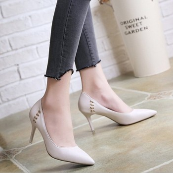 35bfe29d38fc he30032a new sexy pointed heels high heel sandals nightclub sole shoes  professional women shoes