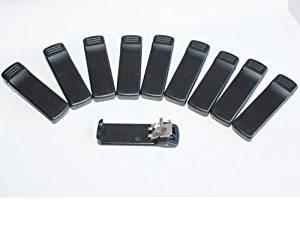 Beaney 10 pcs Belt Clip for Motorola 2 Way Radio HT1000 JT1000 MTX8000 MTX9000 MT2000 MTS2000