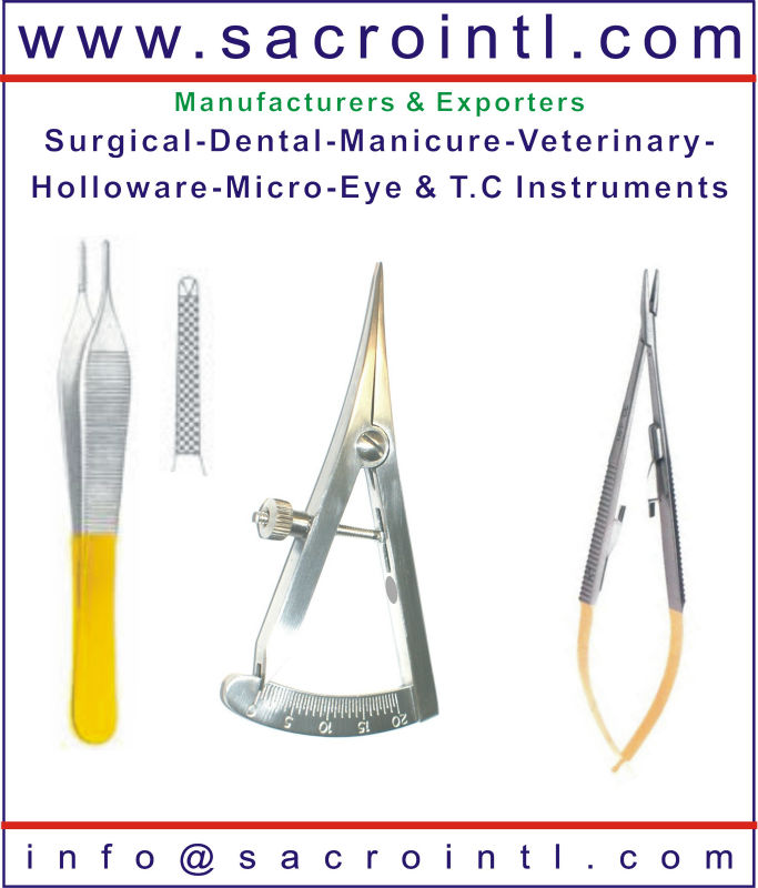 Castroviejo Scissors Ophthalic Micro Surgery Instruments