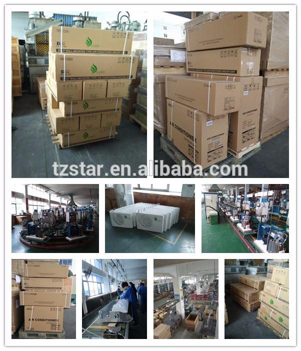 18000Btu 100% 48V DC solar european air conditioner/solar powered air conditioner