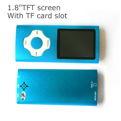 1.8 inch slide game mp4 player with TF card slot