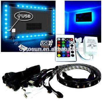 wholesale smd5050 usb powered led strip light kit dc5v for