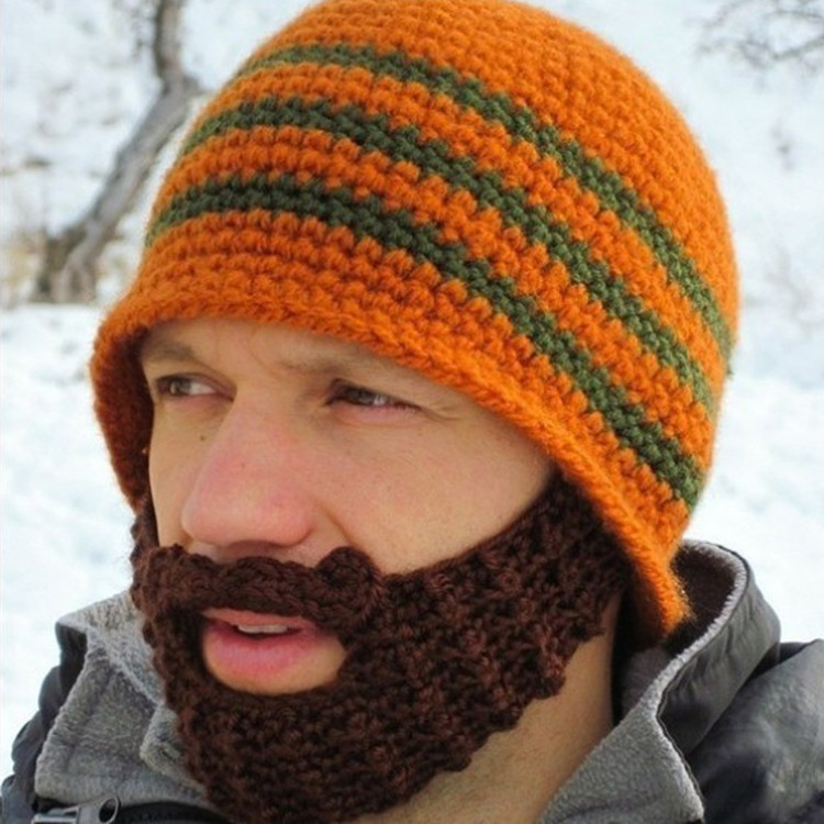 2c62e57acda Wholesale New Autumn Winter Fashion Men S Windproof Beard Hat Funny ...