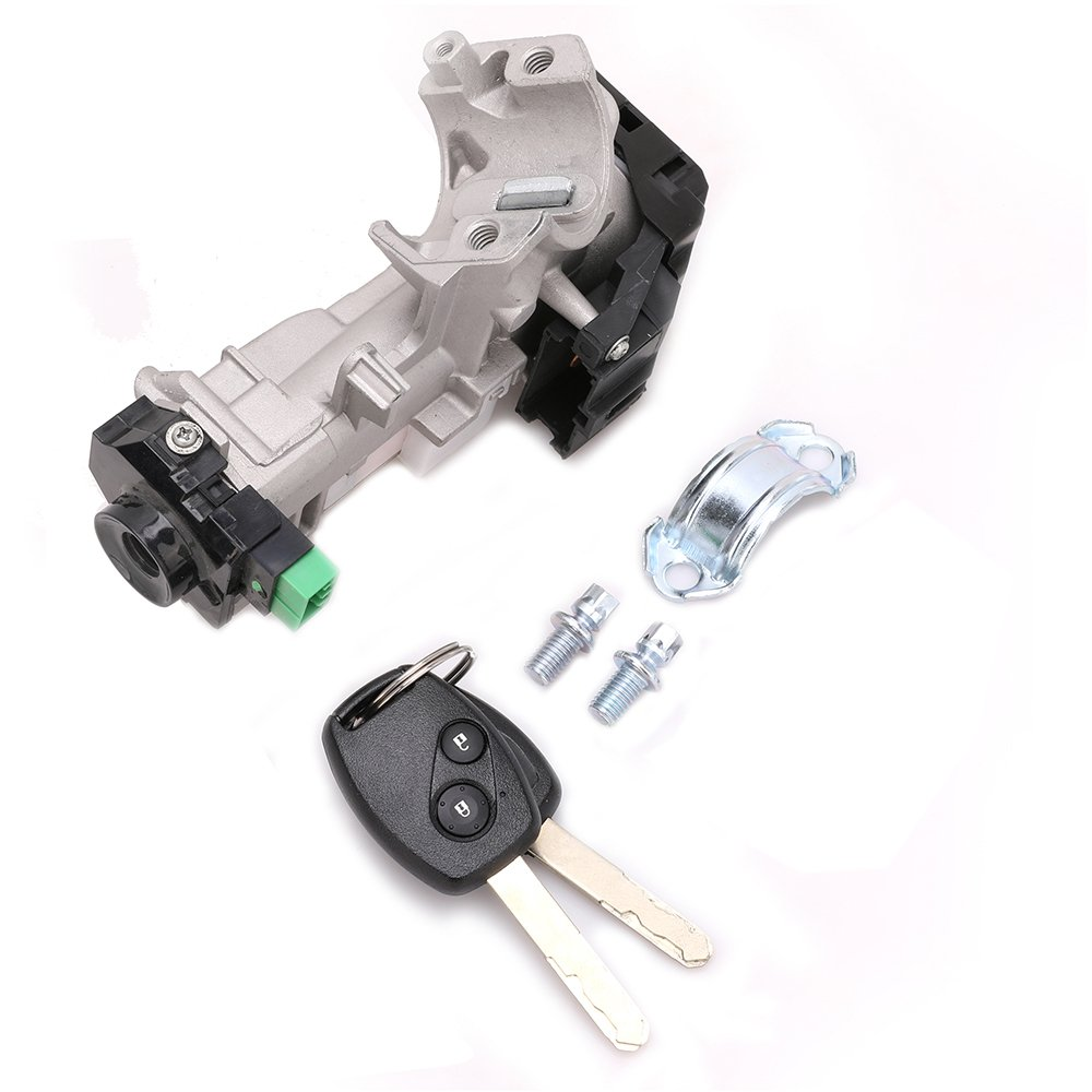 Get Quotations · Steering Ignition Lock Assembly Ignition Lock Cylinder for  2004-2007 Honda Accord 2007 Honda Element