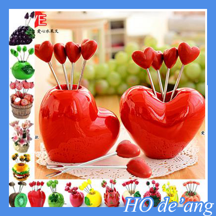 Top Selling 52 Style Stainless Steel Fruit Fork