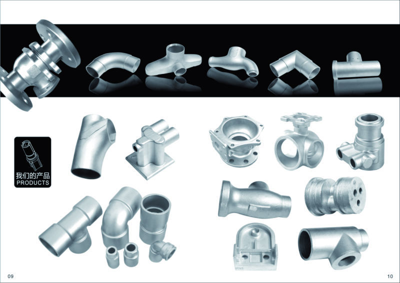Professional cast staniless steel price per kg investment casting product
