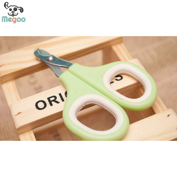 Pet Dog Cat Nail Clippers 9*7mm Safety Puppy Nail Cutter Tools Green