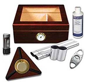The Protégé 25-50 Cigar Capri Glasstop Kit