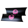 Paper pillow box for hair extension packaging