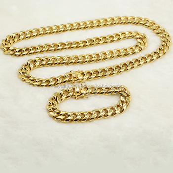rose gold solid jewelry shop yellow white figaro mens chain necklace tri ladies chains