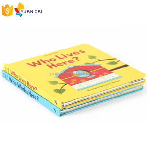 Docket Book On Demand Children Color China Hardcover Board Book Printing Company