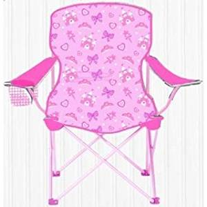 Get Quotations · Sizzlin Cool Princess Pink Metal Children Foldable Camping  Chair