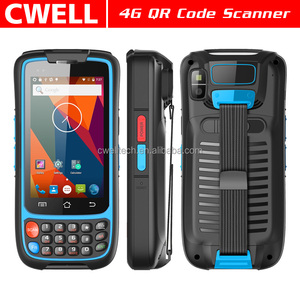 4 Inch 4G LTE 2GB RAM/16GB ROM pda barcode scanner android 1D/2D/RFID/ZigBee Module Optional UNIWA V3C