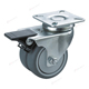 Long way Hot selling 2 / 3 inch 90kg 150kg TPR twin-wheel swivel ball bearing furniture caster