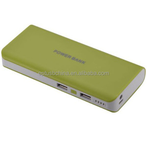 High Capacity Mobile Power Bank with Dual USB Port Mobile power charging