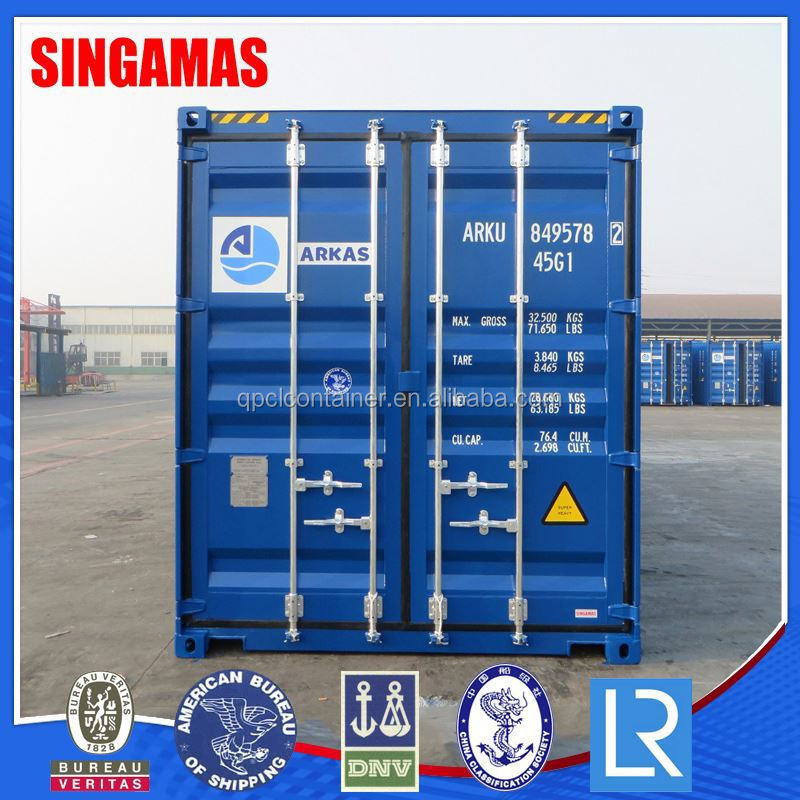 New Style 40HC One Trip Marine Shipping Container