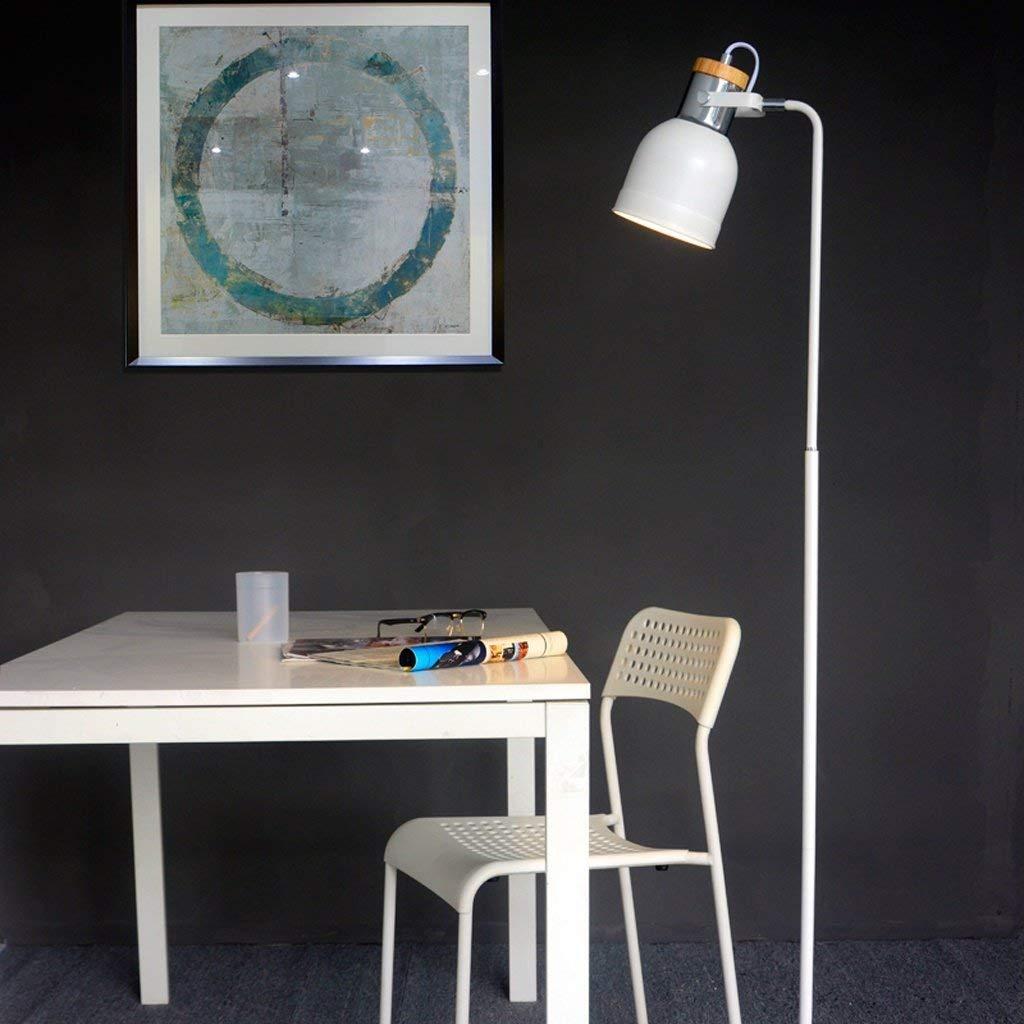 Modern Simple Floor Lamp Living Room Bedroom Led Dimming Eye Protection Vertical Desk Lamp Postage Free Lamps & Shades