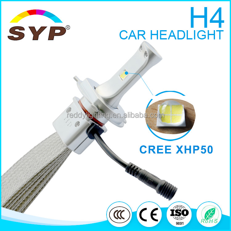 Promotion H11 60w 6000lm Hot C1 Fanless Car Led Headlight With h13, 9004, 9007 Hi/lo Beam H4 H11 9005 LED Car Headlight