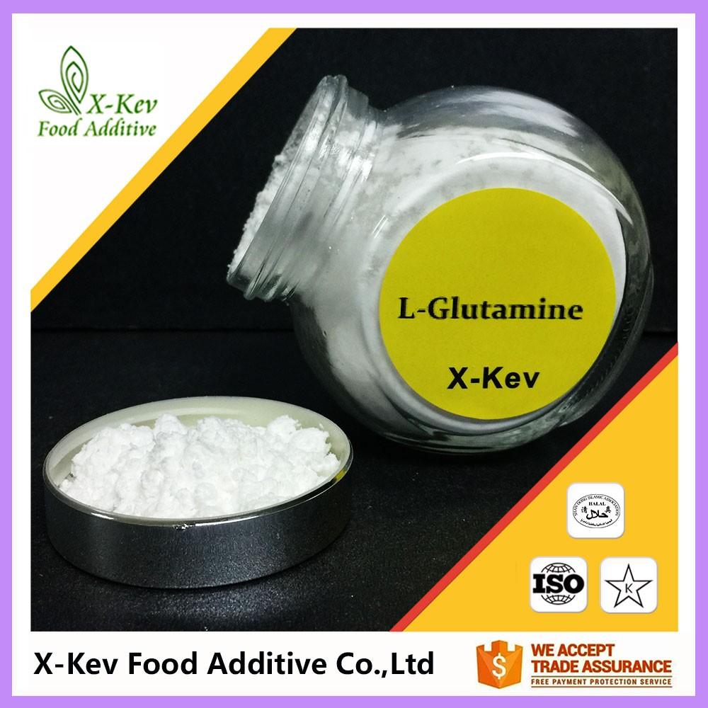 Bulk Amino Acid Raw Material L-glutamine Powder