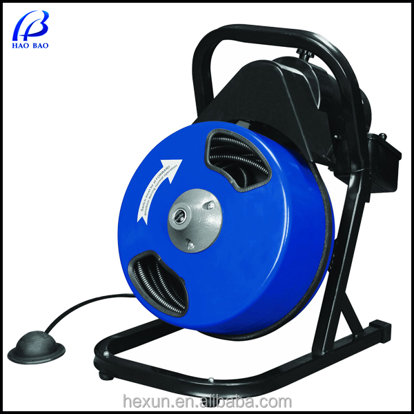 HAOBAO Brand 4In. Electric Pipe Drain Cleaning machine AU50 CE/ISO certification