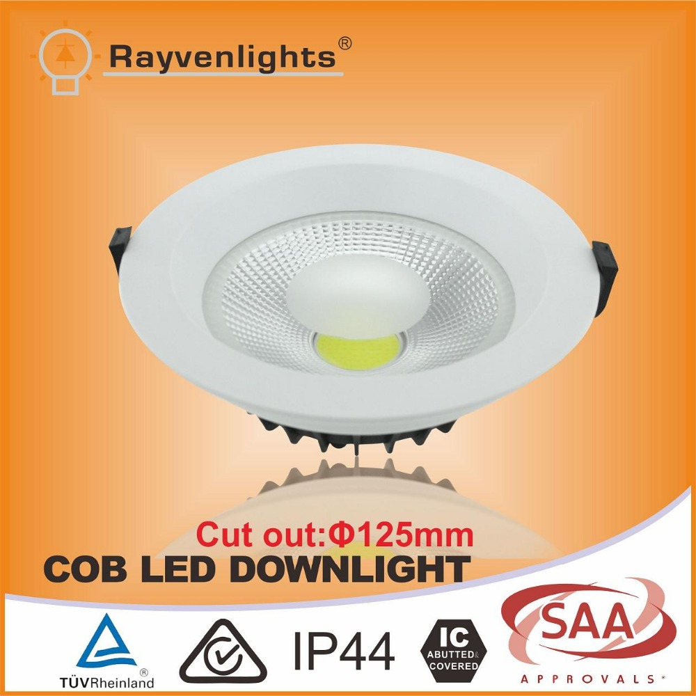 High Lumen Commercial Lighting 30w Cob Led Luxspace Downlight Cut ...
