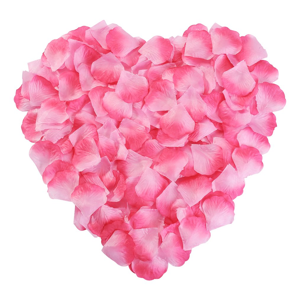Cheap red wedding decorations find red wedding decorations deals on get quotations silk rose petals flower red for wedding proposal decorations 2000pcs by newstarfire pink junglespirit Gallery