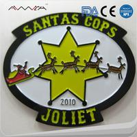 Bulk china manufacturers no minimum Metal lapel badge custom, Security badge lapel pins and button tin badge