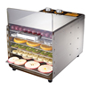 OEM/ODM Easy Operation vegetable 6 tray dehydration plant/wholesale household food dehydrator