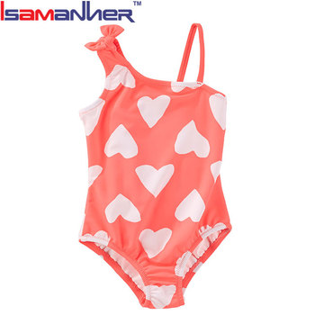 bda622b57a473 One Shoulder Child Modeling Swimwear Kids Swimsuit Models - Buy Kids ...