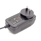 IRAM S-mark approval Argentina market wall mount adapter 24v 1.5a power adapter