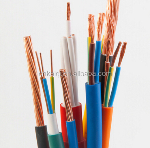 300/330V, 300/500V, 450/750V PVC insulated electrical house wiring materials