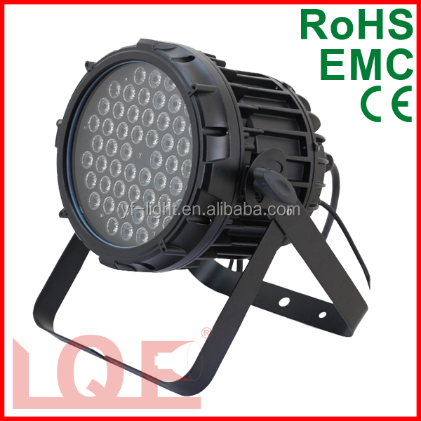 moving head light 54pcs*3w led par light rgbw rain cover