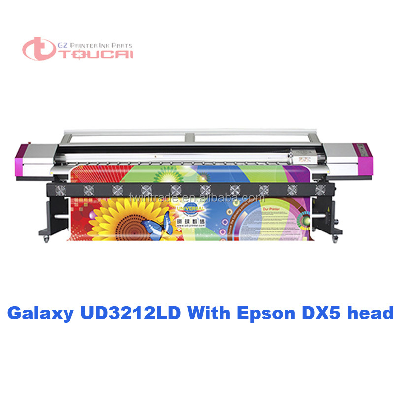 Galaxy 3.2m large character inkjet printer for printing Vinyl and flex