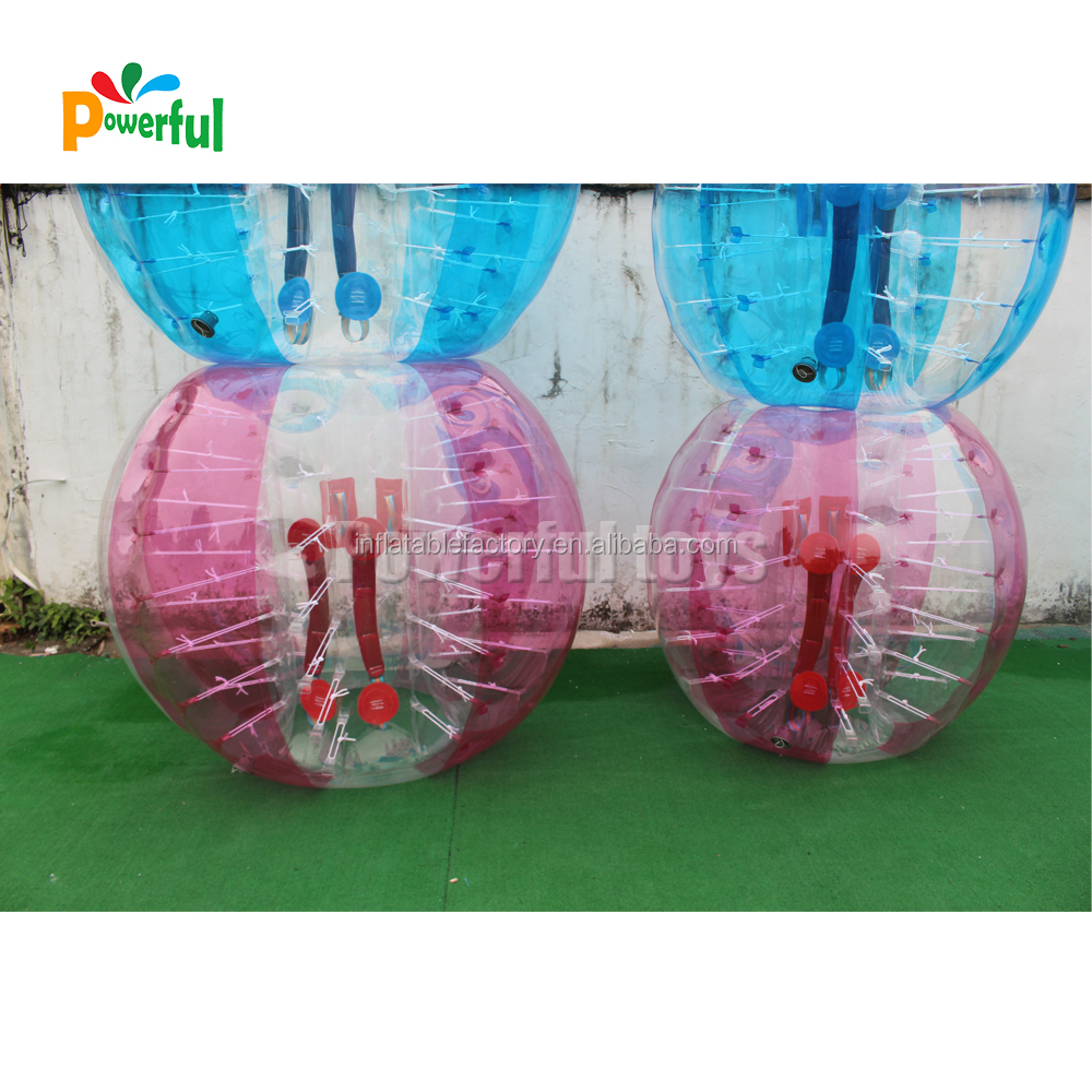Special design body bubble ball,giant plastic bubble for bump,roll,bounce,bash