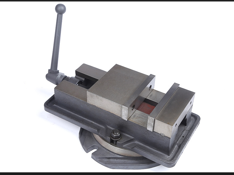 """6/"""" Milling Machine Lockdown Vise With 360 Degree Swiveling Base High Precision"""