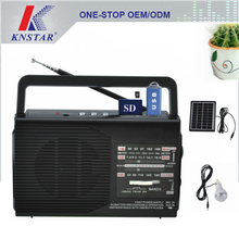 Home lighting solar power FM/AM/SW radio with mp3 player