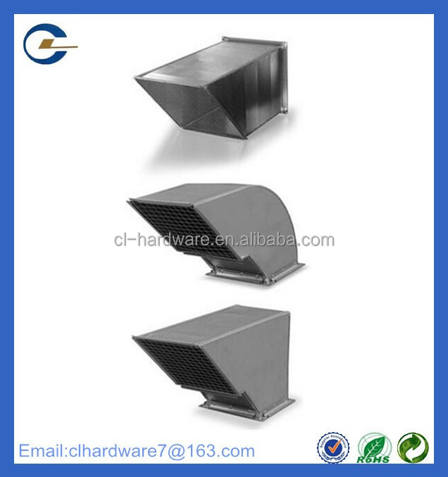 Havc system manufacturer welding metal hvac air conditioner duct