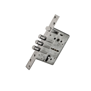 Thickened Square Stainless Steel Bolt Latch Mortise Door Lock Body,Three Bar Door Lock