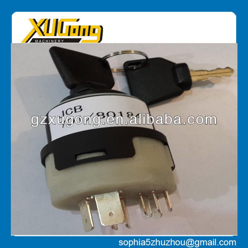 3cx Backhoe Loader Spares Parts,701/80184 Ignition Switch